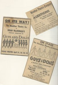 3. Guys & Dolls Audition Notices